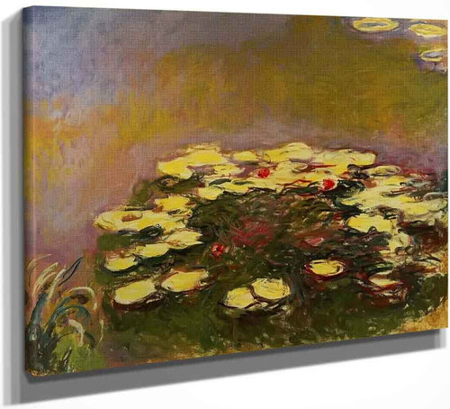 Water Lilies13 By Claude Oscar Monet
