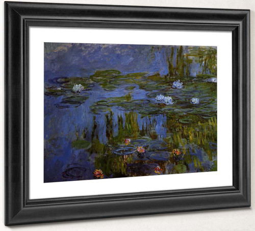 Water Lilies5 By Claude Oscar Monet