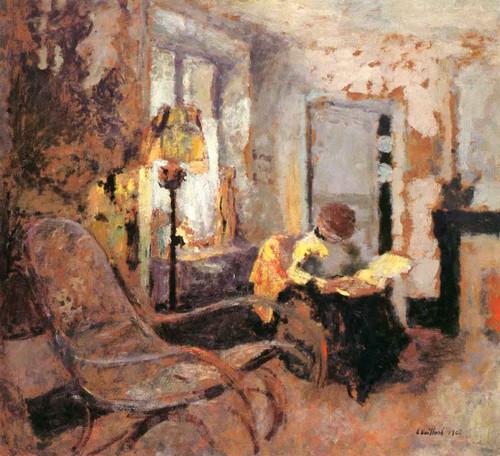 Woman Reading1 By Edouard Vuillard