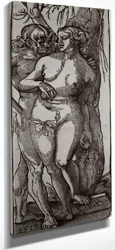 Adam And Eve By Hans Baldung Grien By Hans Baldung Grien