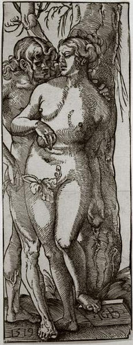 Adam And Eve By Hans Baldung Grien Art Reproduction