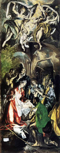 Adoration Of The Shepherds By El Greco Art Reproduction