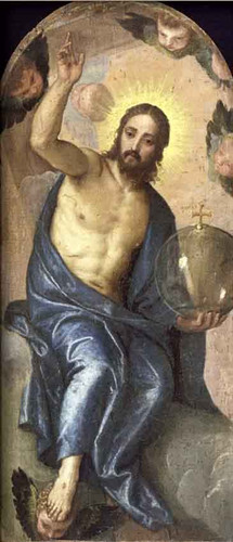 Christ Salvator Mundi By Paolo Veronese Art Reproduction