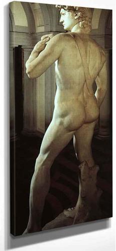 David (Rear View) By Michelangelo Buonarroti(Italian, 1475 1564) By Michelangelo Buonarroti(Italian, 1475 1564)