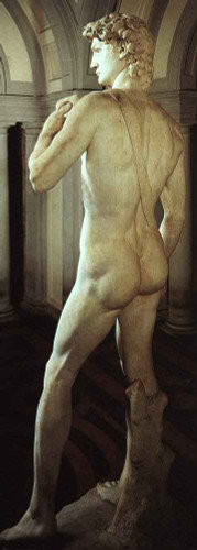 David (Rear View) By Michelangelo Buonarroti(Italian, 1475 1564) By Michelangelo Buonarroti(Italian, 1475 1564)