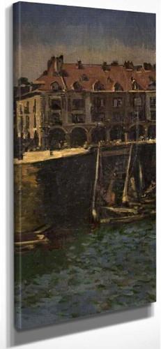 Dieppe Harbour By Walter Richard Sickert By Walter Richard Sickert