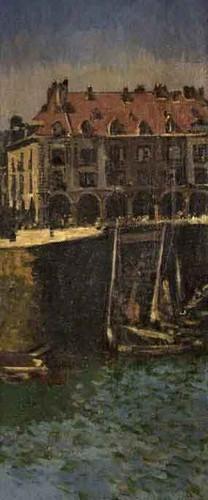 Dieppe Harbour By Walter Richard Sickert Art Reproduction