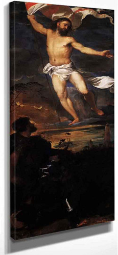 Polyptych Of The Resurrection Resurrection  By Titian