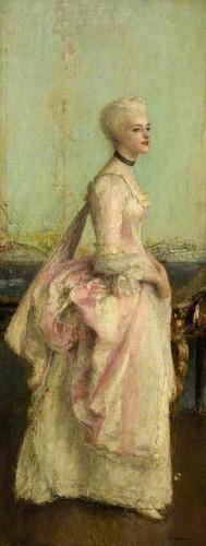 Portrait Of A Lady By Pascal Dagnan Bouveret Art Reproduction