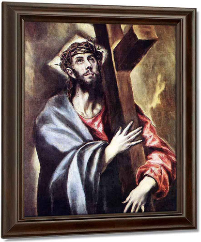 Christ Carrying The Cross1 By El Greco