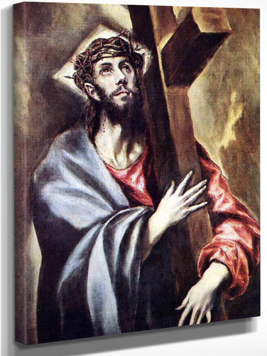 Christ Carrying The Cross1 By El Greco By El Greco