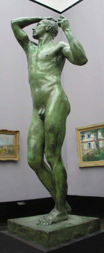 The Age Of Bronze By Auguste Rodin Art Reproduction