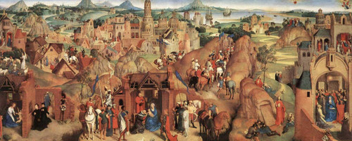 Advent And Triumph Of Christ By Hans Memling