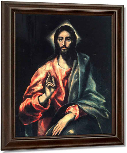 Christ1 By El Greco