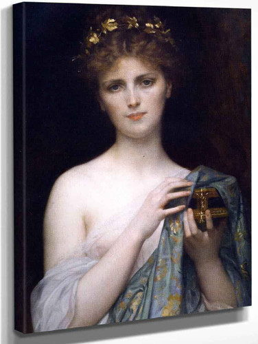 Christina Nilsson As Pandora By Alexandre Cabanel