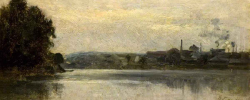 Landscape By Stanislas Lepine