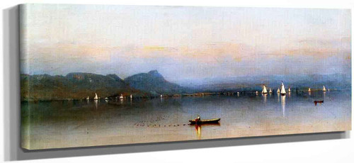 Morning On The Hudson, Haverstraw Bay By Sanford Robinson Gifford