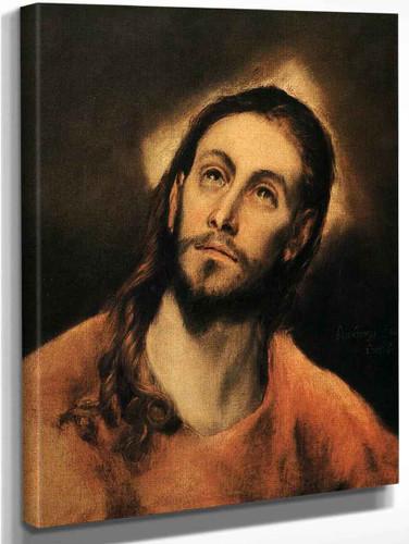 Christ By El Greco By El Greco