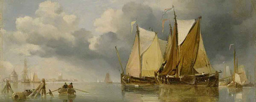 Shipping By Edward William Cooke, R.A.