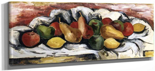 Still Life With Fruit By Marsden Hartley