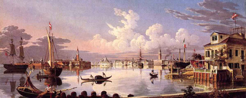 View Of Venice By Robert Salmon