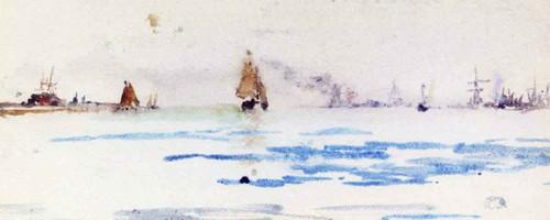 Zuyder Zee By James Abbott Mcneill Whistler American 1834 1903