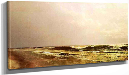 Atlantic Seascape By William Trost Richards By William Trost Richards