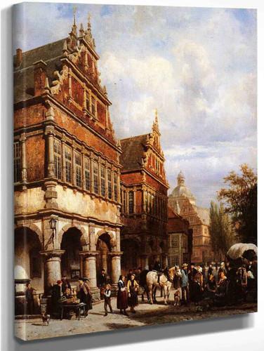 Cityhall Paderborn By Cornelius Springer
