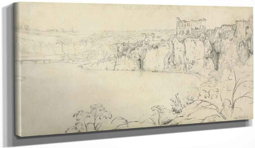 Chepstow Castle On The Wye By Francis Danby