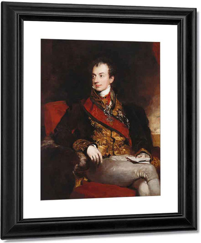 Clemens Lothar Wenzel, Prince Metternich By Sir Thomas Lawrence