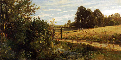 Gemeenlandhuis Of Delflanda Country Road By Cornelius Springer