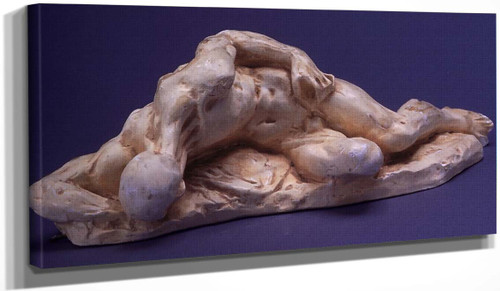 Reclining Male Figure By Auguste Rodin