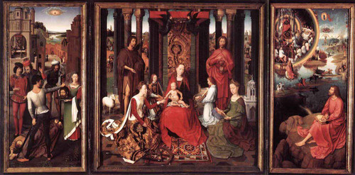 St John Altarpiece By Hans Memling