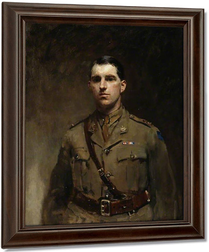 Commander A. W. Buckle By Ambrose Mcevoy Oil on Canvas Reproduction