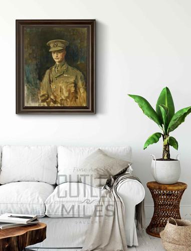 Commander Daniel Marcus William Beak By Ambrose Mcevoy