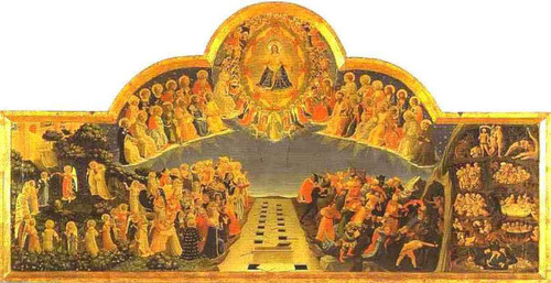 The Last Judgement. By Fra Angelico