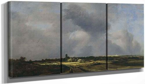 View Of Naarden By Jacob Van Ruisdael