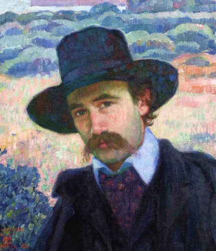 Andre Gide At Jersey Theo Van Rysselberghe