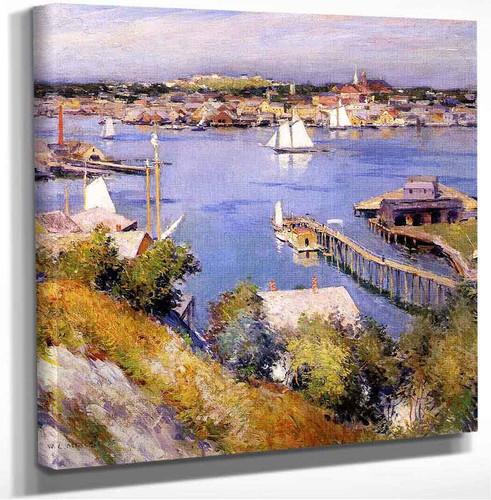 Gloucester Harbor Willard Leroy Metcalf