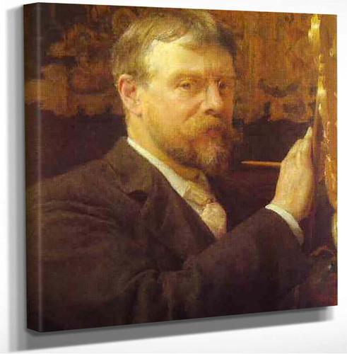 Self Portrait Of Lawrence Alma Tadema Ra Sir Lawrence Alma Tadema