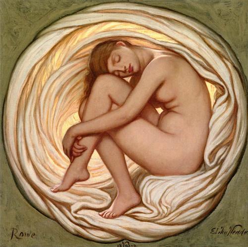The Heart Of The Rose Elihu Vedder