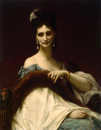 Countess De Koller, Nee Maria Riznich By Alexandre Cabanel