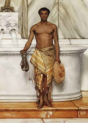 A Balneator By Sir Lawrence Alma Tadema