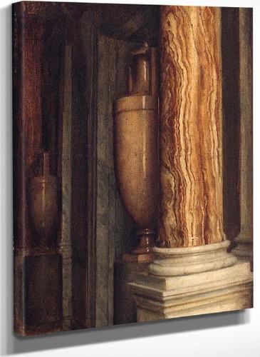 A Marble Interior By Sir Edward John Poynter