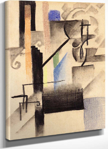 Abstract Form Xv By August Macke