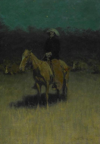 Cowpuncher's Lullaby By Frederic Remington