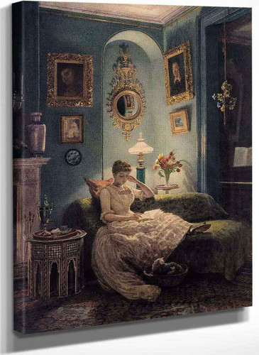 An Evening At Home By Sir Edward John Poynter