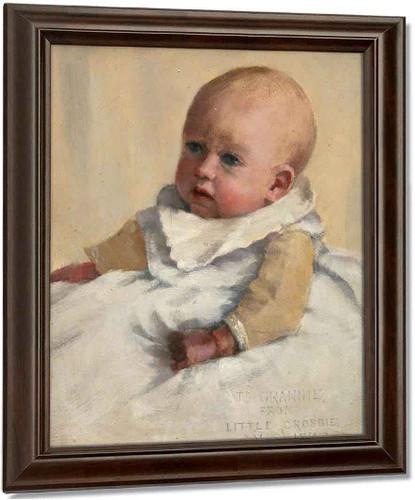 Crosbie Garstin As A Baby By Norman Garstin