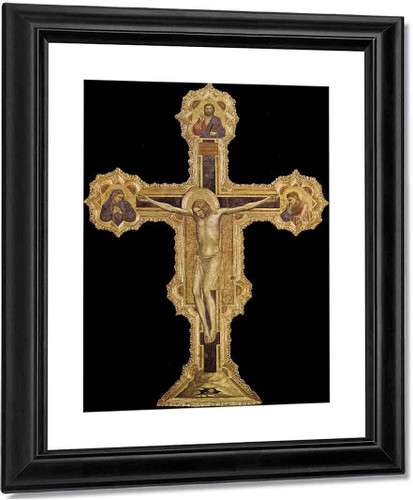 Crucifix2 By Giotto Di Bondone By Giotto Di Bondone
