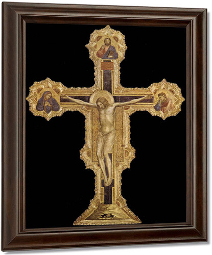 Crucifix2 By Giotto Di Bondone